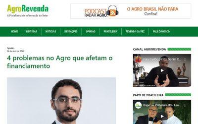 AgroRevenda – 4 problemas no Agro que afetam o financiamento