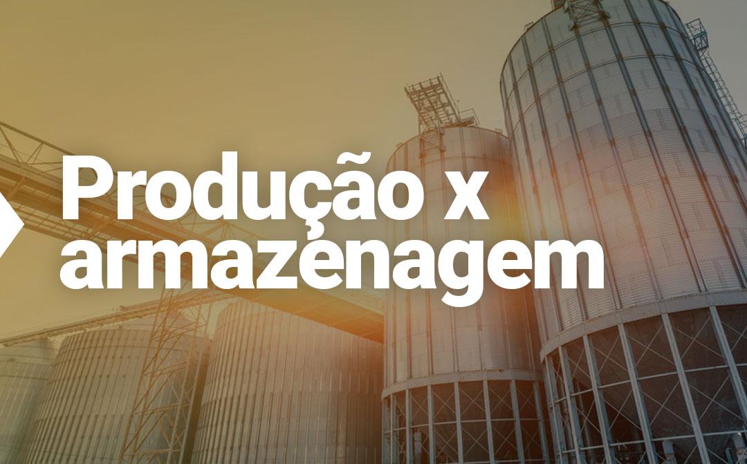 O déficit de armazenagem do Brasil