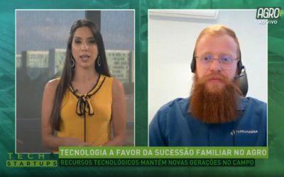 Tech & Startups com Bernardo Fabiani (canal Agro+) – Tecnologia a favor da sucessão familiar no agro