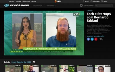 Vídeos Band – Tech & Startups com Bernardo Fabiani