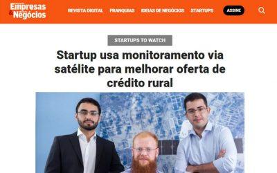 PEGN – Startup usa monitoramento via satélite para melhorar oferta de crédito rural
