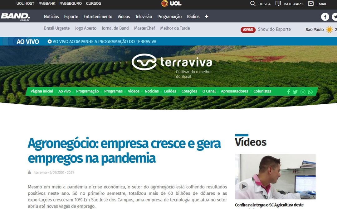 Terraviva – Agronegócio: empresa cresce e gera empregos na pandemia