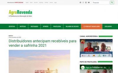 AgroRevenda – Distribuidores antecipam recebíveis para vender a safrinha 2021