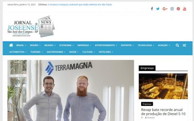 Jornal Joseense – Agfintech TerraMagna monitorou 8,3 milhões de hectares por satélites em 2020