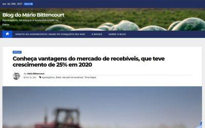 Blog do Mário Bittencourt – Conheça vantagens do mercado de recebíveis, que teve crescimento de 25% em 2020
